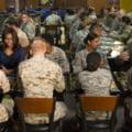 Michelle Obama, vizita la baza militara de unde e atacat Statul Islamic