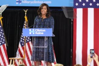 Michelle Obama a facut imposibilul: a scos alegerile prezidentiale din mocirla - The Guardian