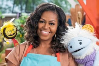 Michelle Obama va fi protagonista unei emisiuni culinare pentru copii. Show-ul, disponibil pe Netflix, incepand din martie