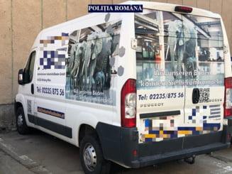 Microbuz dat disparut in Austria, gasit la Arad pe o strada din Micalaca