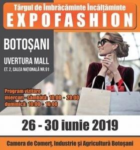 Miercuri incepe EXPOFASHION 2019. 5 zile pentru un super targ national de fashion