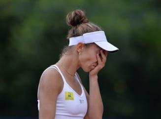 Mihaela Buzarnescu, eliminata dramatic la Lausanne: A condus cu 6-1, 5-2!