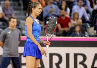 Mihaela Buzarnescu, invinsa de Caroline Garcia in Fed Cup