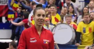 Mihaela Buzarnescu, invinsa de Karolina Pliskova in primul meci al zilei de la Fed Cup