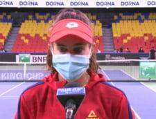 Mihaela Buzarnescu, un car de nervi! A ratat patru mingi de set, a dat cu racheta de pamant si a pierdut