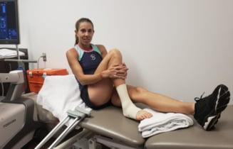 Mihaela Buzarnescu a aflat verdictul medicilor: Absenta de durata pentru sportiva noastra