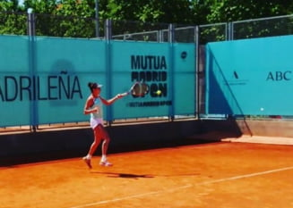 Mihaela Buzarnescu si Irina Bara, invinse categoric de Ostapenko si Zvonareva la Madrid