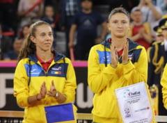 Mihaela Buzarnescu si Irina Begu, eliminate de la Moscova din proba de dublu