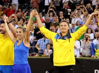Mihaela Buzarnescu si Irina Begu se califica in sferturile de finala de la Wimbledon dupa un meci perfect