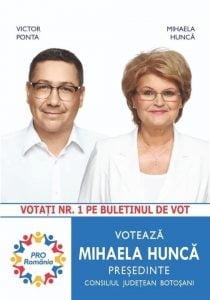 """Mihaela Hunca: """"Botosaniul merita mult mai mult. Botosaniul merita conducatori carora sa le pese cu adevarat de oameni"""""""