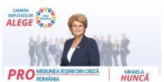 """Mihaela Hunca, Pro Romania: """"Un ban-atat valoreaza bunastarea poporului roman in ochii guvernului Orban"""""""