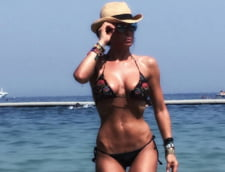 Mihaela Radulescu costum baie tatuaj