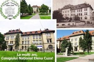 Mihail Genoiu: La multi ani Colegiului National Elena Cuza!