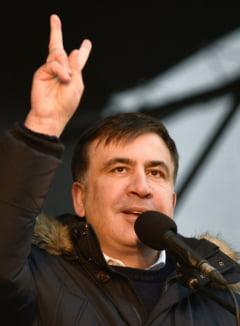 Mihail Saakasvili a fost ridicat de trupele speciale si dus intr-o directie necunoscuta