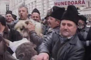 Mii de fermieri protesteaza in Capitala