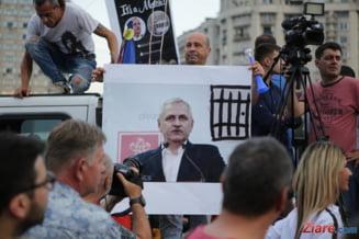 Mii de oameni au cerut demisiile lui Dragnea si Dancila si alegeri anticipate: Uniti salvam toata Romania! (Foto & Video)