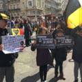 """Mii de oameni au participat la un mars impotriva terorii in Bruxelles: """"Daesh, pleaca! Belgia nu este a ta"""" (Video)"""