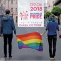 Mii de oameni participa, sambata, la Bucharest Pride 2018. Ambasadorii Marii Britanii si Germaniei vor sustine discursuri