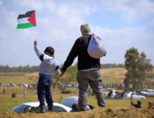 Mii de palestinieni protesteaza in Gaza impotriva anexarilor israeliene in Cisiordania