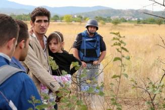 Mii de refugiati, primiti cu bratele deschise de germani (Video)