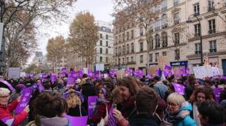 Mii de spanioli au protestat fata de violenta impotriva femeilor (Foto)