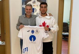 Mijlocasul Ronaldo Deaconu a semnat cu Gaz Metan Medias