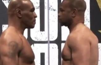 "Mike Tyson a revenit in ring dupa 15 ani. ""Parca sunt unchii mei care se lupta la gratar"". Cum s-a incheiat meciul"