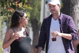 Mila Kunis a nascut - Ashton Kutcher e tatic
