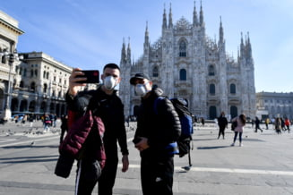 Milano, in vremea coronavirusului