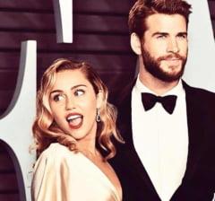 Miley Cyrus si Liam Hemsworth s-au despartit, dupa opt luni de casnicie