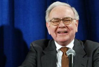 Miliardarul Buffett: Numai cuvintele nu pot rezolva criza din zona euro