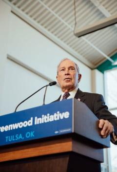Miliardarul Michael Bloomberg, candidat la presedintia SUA, propune taxe mult mai mari pentru americanii bogati si corporatii