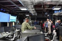 Militarii americani si romani din Baza militara de la Deveselu si-au prezentat o parte din tehnica