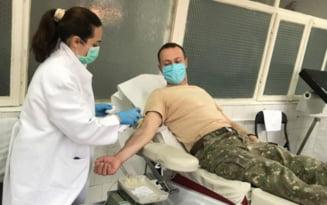 Militarii braileni au donat sange in contextul efortului national de prevenire si limitare a efectelor noului coronavirus
