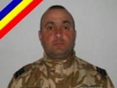 Militarul roman mort in Afganistan, avansat in grad si propus pentru decorare post-mortem