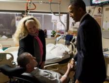 Militarul roman ranit in Afganistan si vizitat de Obama se intoarce acasa