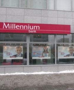 Millennium Bank lanseaza un nou cont de salariu, fara comision la retrageri