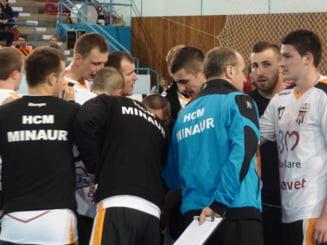 Minaur Baia Mare scapa printre degete o mare victorie in Liga Campionilor