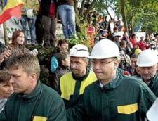 Minerii ameninta cu noi proteste, daca membrii comisiei speciale nu vor veni la Rosia Montana