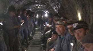 Minerii din Valea Jiului au renuntat la protest