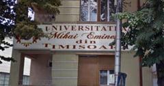 """Ministerul Educatiei vrea sa desfiinteze Universitatea """"Mihai Eminescu"""" din Timisoara"""