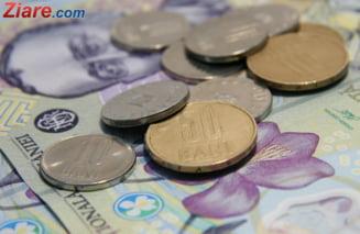 Ministerul Finantelor a imprumutat, luni, 605 milioane de lei de la banci