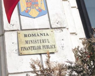 Ministerul Finantelor a imprumutat 959 de milioane lei de la banci