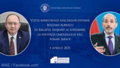 Ministrii de externe din Romania si Iordania au semnat tratatul privind extradarea. Ce acord a parafat Raed Arafat