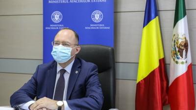 """Ministrul Afacerilor Externe, Bogdan Aurescu: """"Situatia liderului opozitiei ruse este profund ingrijoratoare"""""""