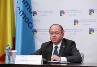 Ministrul Aurescu si-a exprimat revolta fata de atacurile ce au lovit Franta