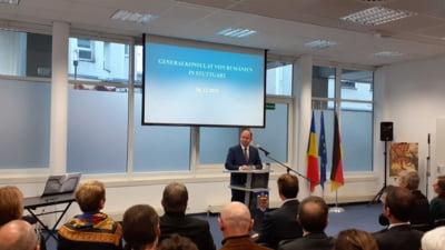 Ministrul Bogdan Aurescu a inaugurat Consulatul General al Romaniei la Stuttgart