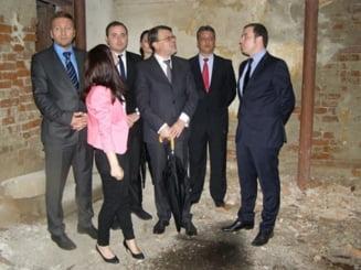 Ministrul Culturii, Daniel Barbu, a vizitat fostul penitenciar de la Ramnicu Sarat Principal