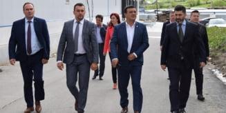 Ministrul Economiei, Niculae Badalau, in vizita de lucru la Borsec si Praid