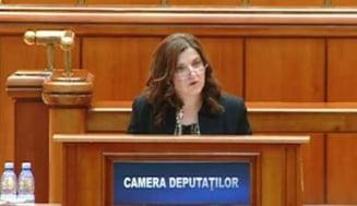 Ministrul Justitiei, in Parlament: Sunt aici pentru ca am avut curajul sa spun ca imparatul este gol (Video)